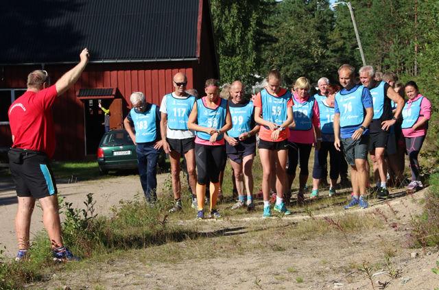 Klare til start i det forrige løpet i Finnskogkarusellen. (Foto: Tor-Arne Rønning)