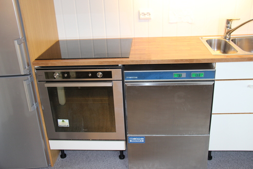 Kjøkkenovn-oppvask