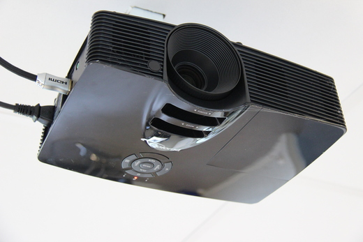 Projector i taket