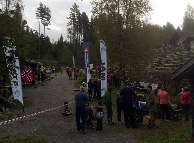 Fra start og målområdet ved Kvennstugua. (Foto: Instagram)