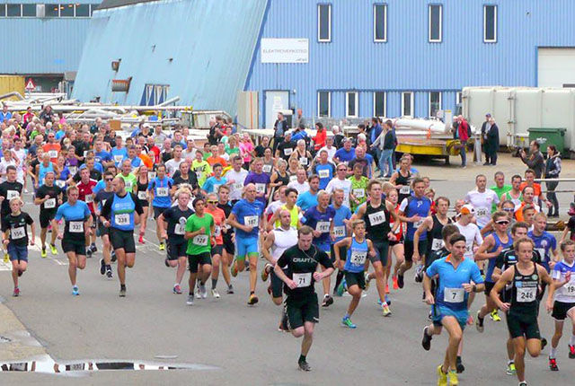 Det var 345 fullførende deltakere i Aibel-sprinten i år. (Foto: fra arrangørens facebook-side)