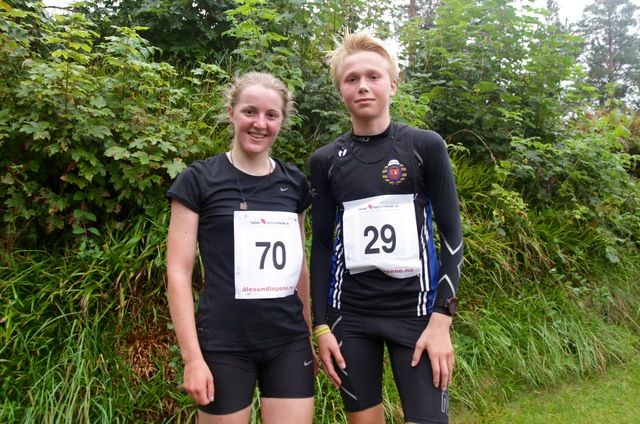 Reese Bendiksen og Håkon Stavik vant dagens løp i Ålesund
