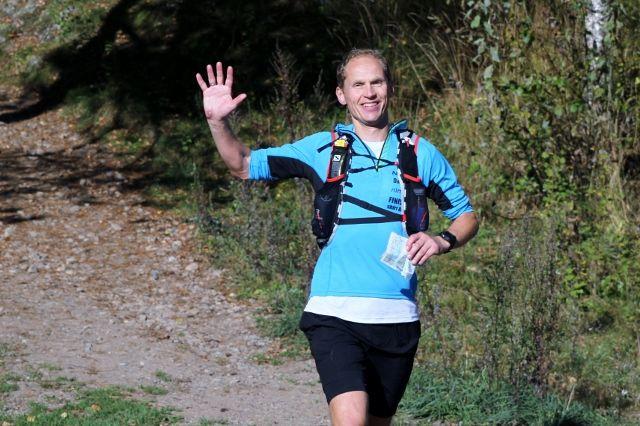 Rolf Skotheim vant litt overraskende 100-kilometeren i Nordmarka Ultra Challenge (foto: Olav Engen).