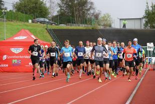 Starten i Fanaløpet 2016