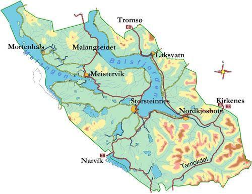 balsfjordkart