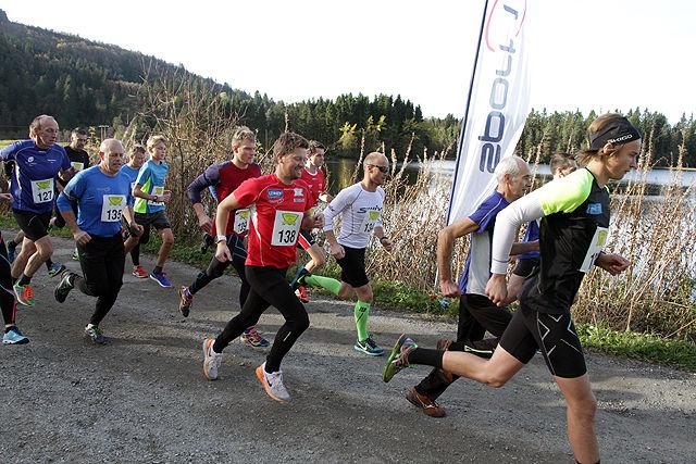 Fra starten halvmaraton 2016