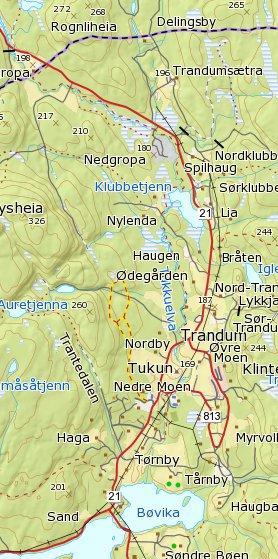 Kart Over Turstier Romskog Kommune
