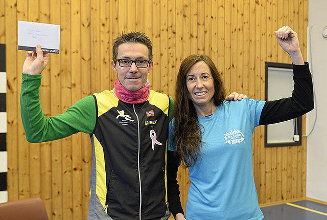Arne Martinius Lindstad og Jorunn Hagesæther vant åttende utgave av Halden Ultraintervall. (Alle foto: Bjørn Johannessen)