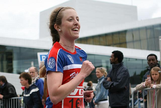 Petra Jacoby, som løper for SK Rye, ble nummer 13 i Finalloppet utenfor Göteborg. (Arkivfoto: Kjell Vigestad)