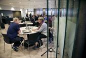 Alle deltagere får servert måltidene i Restaurant Utsikten i husets 7. etasje.