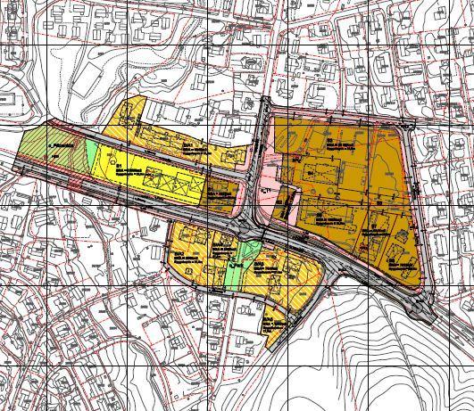 Kart som viser planområde MyraTEBO