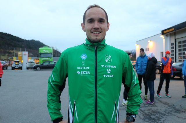 Olger Pedersen vant i dag 10 km på vinterkarusellens 1. løp i Ålesund