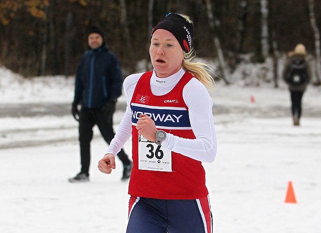 Lena Selen imponerte med en sjetteplass og ble Norges beste løper