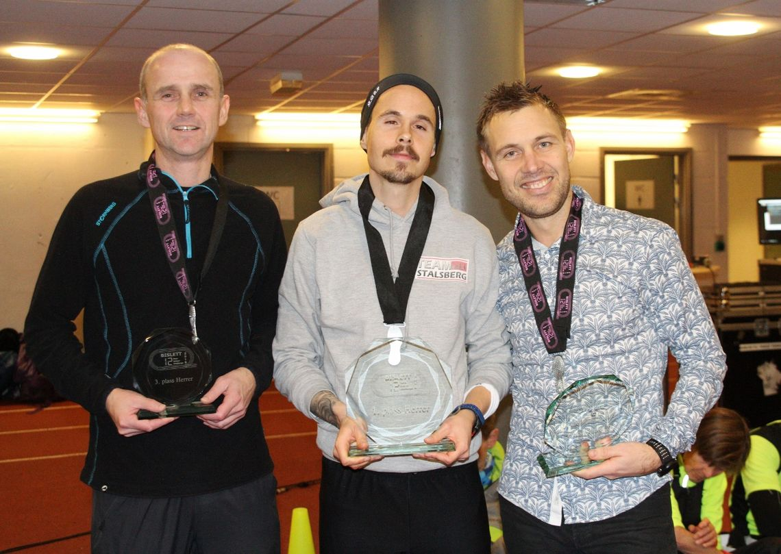 Herrepallen med Patrik Gullerstöm, Magnus Bø Thorud og Ole Erik Flatin (foto: Olav Engen).