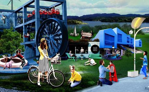 Korleis ser framtida ut for oss som bur og jobbar i Lindås kommune? Illustrasjon: