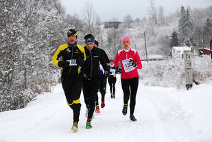 Å delta i ein av dei mange vinterkarusellane i landet kan vera ein måte å ta vare på forma gjennom vinteren. (Foto: Bjørn Hytjanstorp)