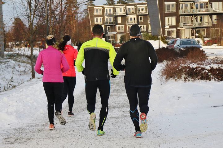 Motivasjon: Mange trenger et løp å trene mot for å få kontinuitet i treningen sin (foto: Marianne Røhme).