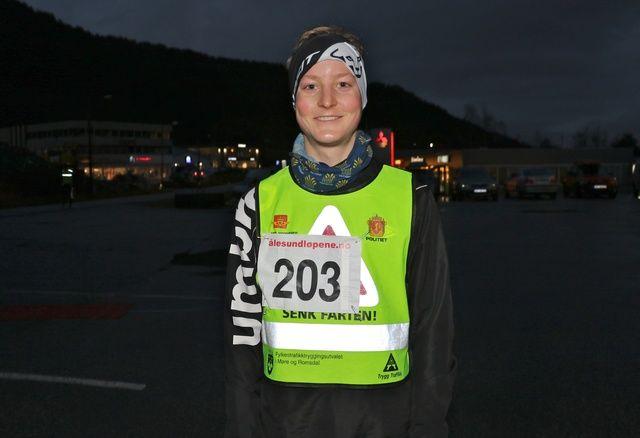 Pål Andre Lervåg, Ålesund FIK er et stort løpetalent. Foto: Martin Hauge-Nilsen
