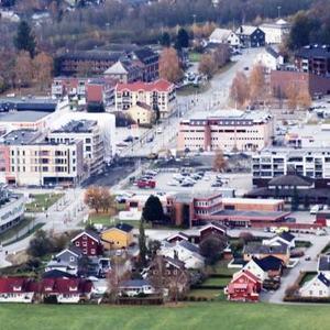 Bilde av Melhus sentrum