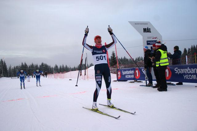 Får Aurora Ulsaker Bjørn mer å juble for i touren på hjemmebane som her under fjorårets HA-sprint? (Foto: Stein Arne Negård)