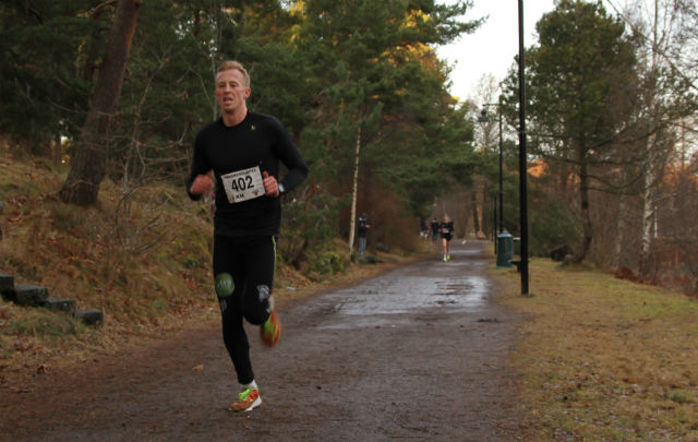 Andreas Skatvedt Iversen vant 5 km på ny pers, 16.20.