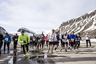 Start 2015 (foto Geir Barstein, Svalbardposten).