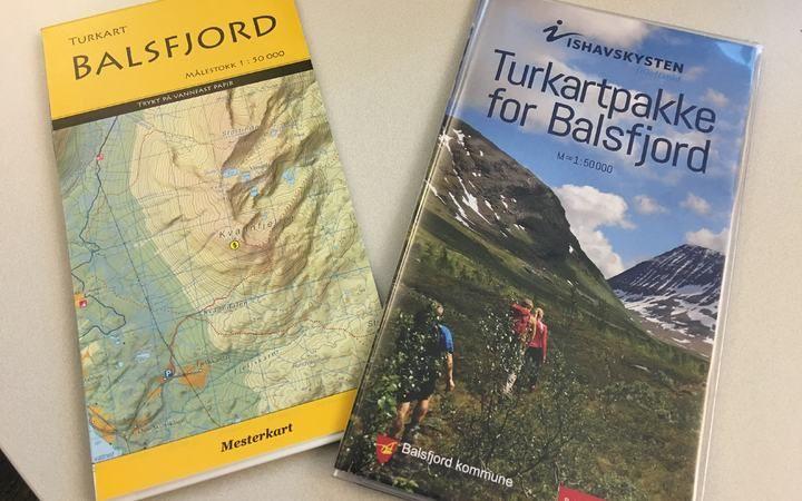 salg av kart Salg av kart, bøker og reklameartikler   Balsfjord Kommune salg av kart