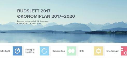 Budsjettplan 2017 - endelig plan