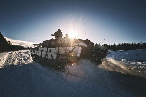 Forsvaret-stridsvogn