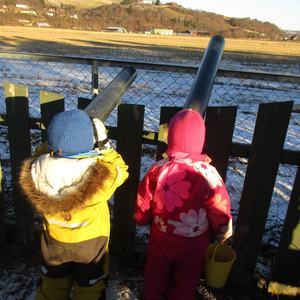 Barn i Gimsøya barnehage