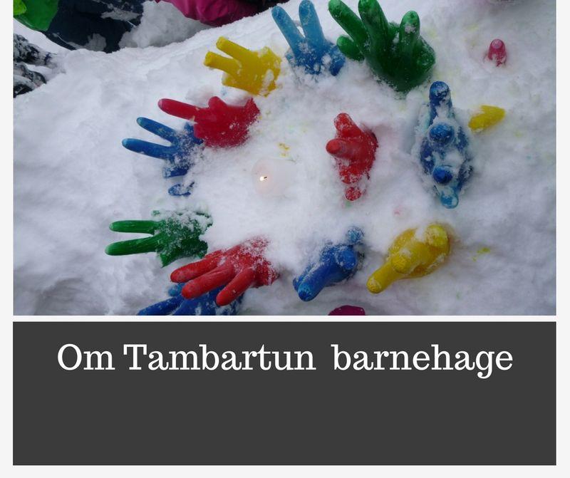 Om Tambartun barnehage