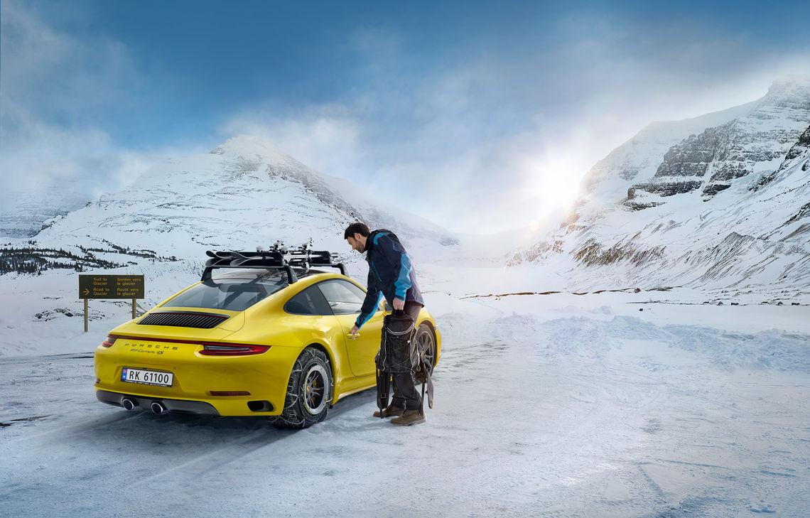 Du kan ikke bruke Porsche i selve rennet, men kanskje vinner du en weekend med fri bruk av en slik bil (arrangørfoto).