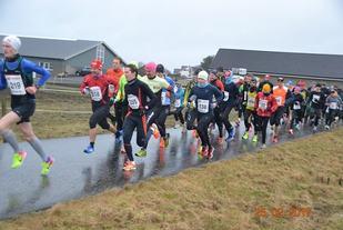 Fra starten av Orremila som gikk sist lørdag (Foto: spirit-friidrett.com).