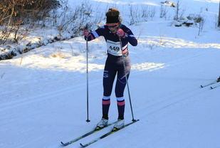 Berit Gjelten vinner Markatrimmen. Foto: Sol Haugen