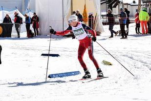 Fristileksperten Finn Magnar Hagen fra Åslia Skilag stilte i klassisk stil på den første distansen men tok likevel gullet med et snaut minutts margin på 10 km i klasse M10 (menn 76-80 år). (Arrangørfoto)