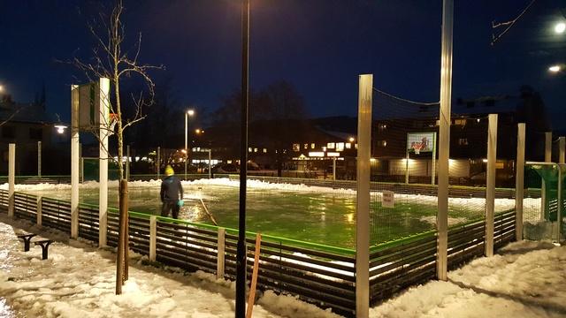 Ballbingen på Orkanger ungdomsskole