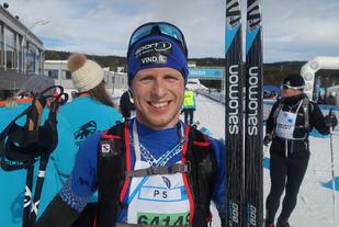 Vinner av årets Ulsjøløp, Petter Soleng Skinstad Arkivfoto:Finn Olsen
