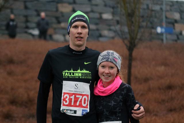 Tiit Oinus og Adele Henriksen var de raskeste på 5 km