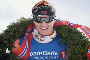 Petter Eliassen, her etter seieren forrige helg i Reistadløpet. Foto: Arrangøren