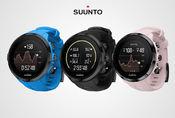Suunto Spartan Sport Wrist HR finnes i tre ulike farger: svart, blå og rosa (sakura).