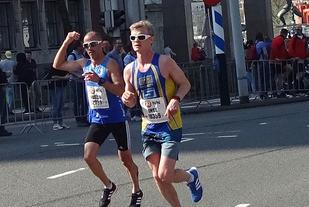 Inge Hasund, Bøler noterte seg for 2.35.43 og ble nestbeste nordmann og satte personlig rekord. Foto: Joachim Tranvåg