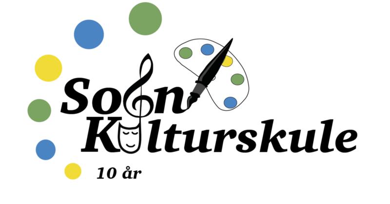Logo Sogn kulturskule 10 år