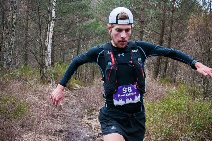 Hans Kristian Smedsrød knuste konkurrentene i KRSUltra. (Foto: Thomas Øderud)