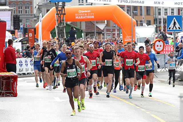 Start halvmaraton