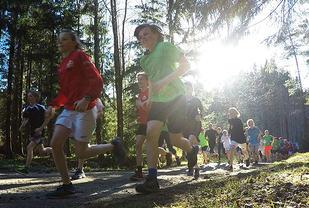 Borredalen Rundt er et av løpene som holder det gående i hele fellesferien. Foto: Bjørn Johannessen