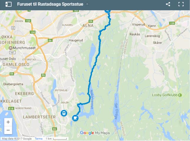 kart over ekebergsletta VIDEOBLOGG: Stiløping til Østmarkas beste kanelboller   KONDIS  kart over ekebergsletta