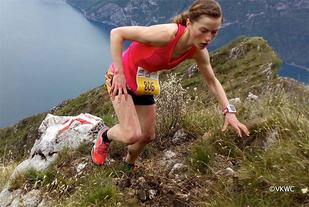 Hilde Aders klatra inn til tredjeplass i Vertical KM Trentapassi i Italia. (Foto: Vertical Kilometer World Circuit)