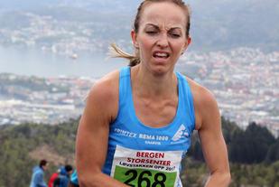 Anita Iversen Lilleskare er en ivrig motabkkeløper, er klar for årets Løvstakken Opp