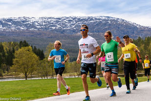 Fra Eikefjord Halvmaraton 2017. (Alle foto: Ronny Osland)