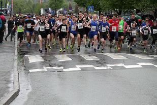 Fra starten i Åsaneløpet 2016